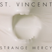 St Vincent Strange Mercy Artwork